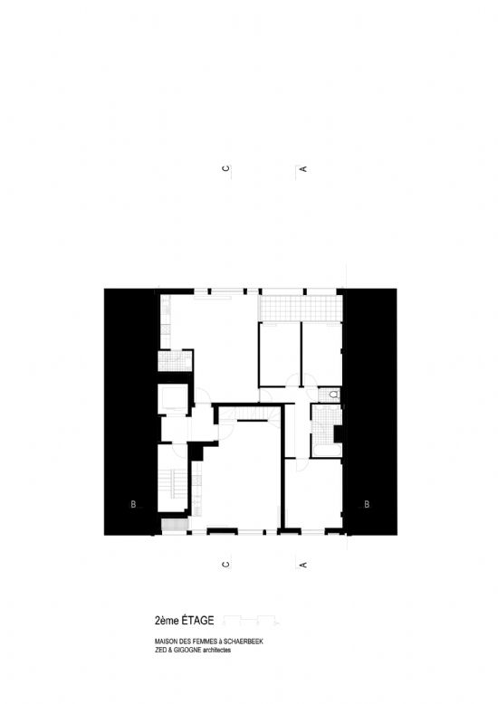 ZED-GIGOGNE ontwerpen Maison Des Femmes in Schaarbeek_10