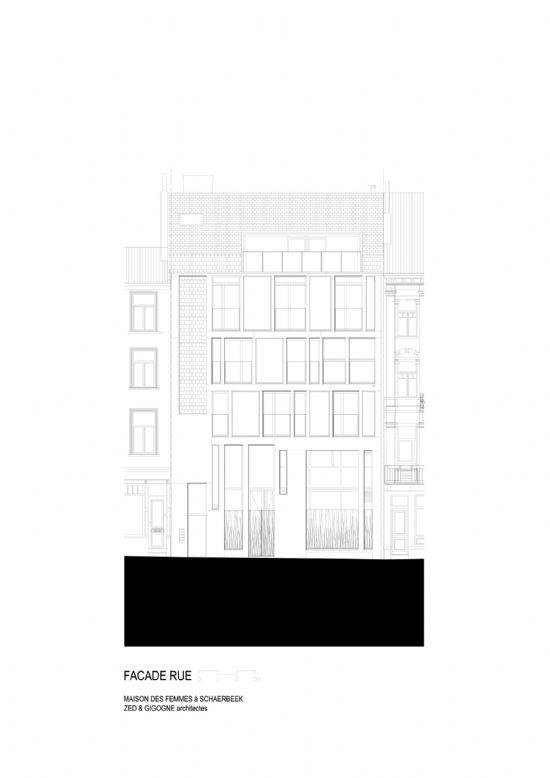 ZED-GIGOGNE ontwerpen Maison Des Femmes in Schaarbeek_11
