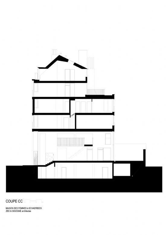 ZED-GIGOGNE ontwerpen Maison Des Femmes in Schaarbeek_12