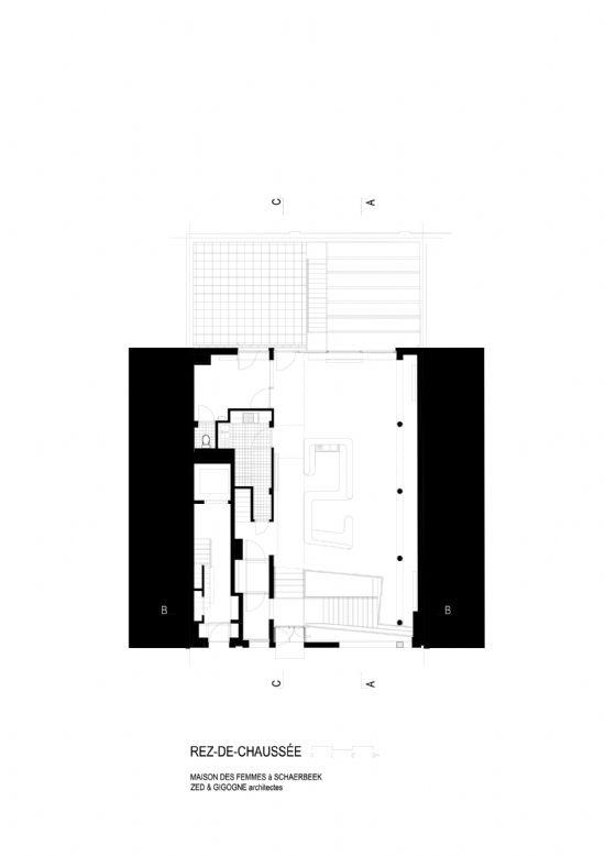 ZED-GIGOGNE ontwerpen Maison Des Femmes in Schaarbeek_14