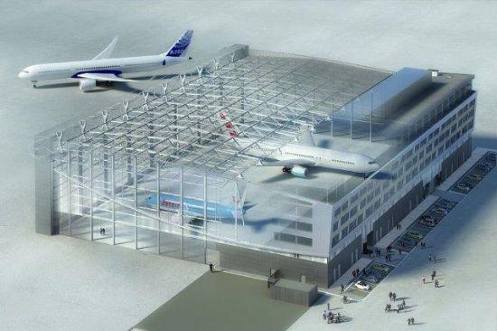 Nieuwe vliegtuigloods Jetair Tui Travel_2