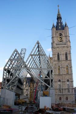 Stadshal Gent + Herinrichting Emile Braunplein_1