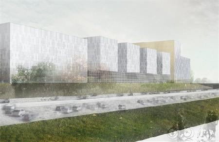 Berchem X, nieuw kantorencomplex/gebouwencollectief_2