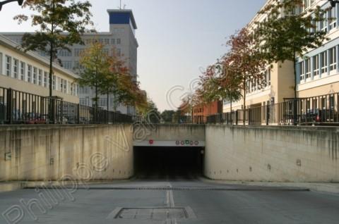 Ondergrondse tunnel + parking (Philipssite)