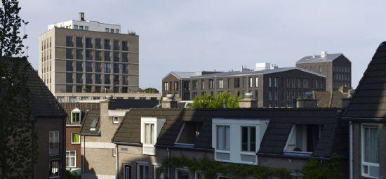 Hessenberg, 200 appartementen en 1.200 m² commerciële functies.