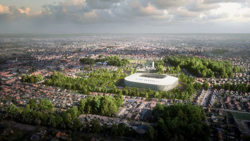 Nieuw voetbalstadion Club Brugge