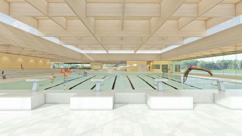 Stedelijk zwembad Ronse