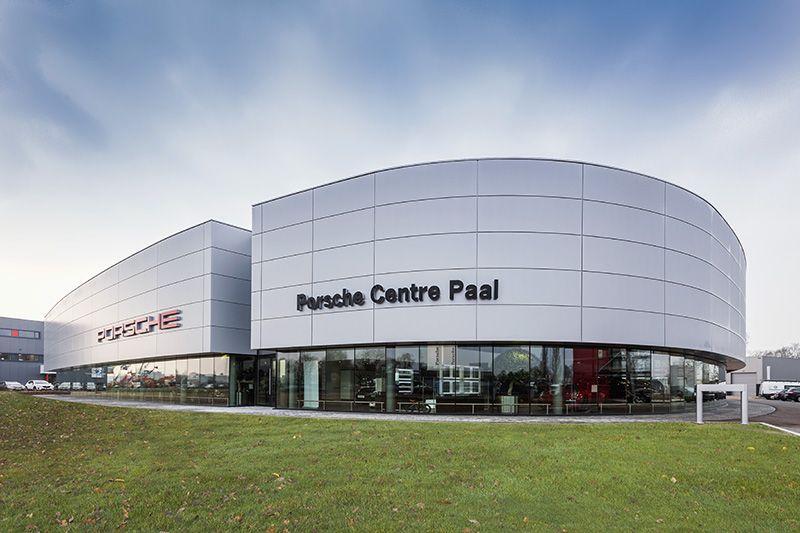 Parkeerdak Porsche Paal