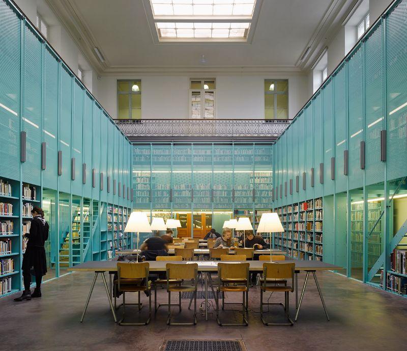 Transformatie bibliotheek Architectuur UGent