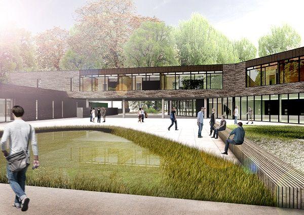 Nieuwbouw technische school Gitok