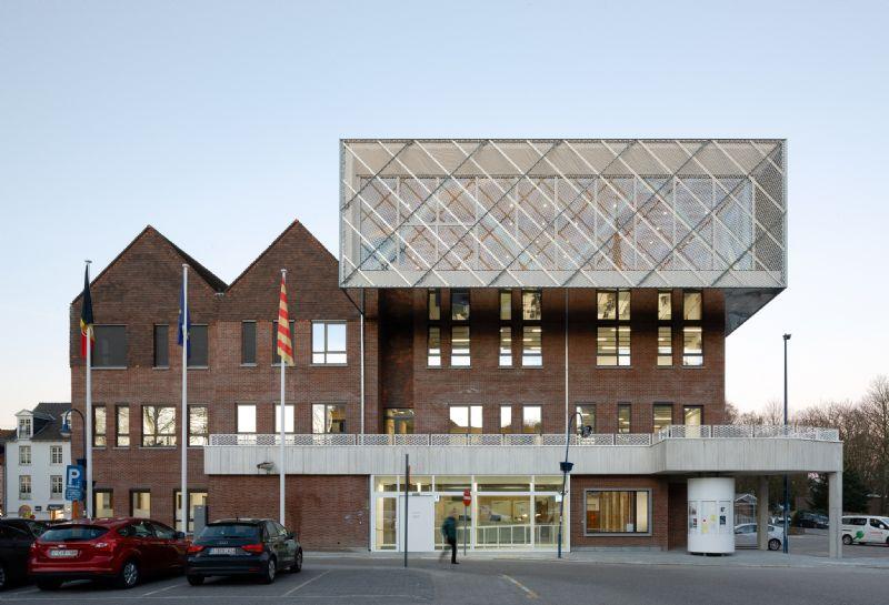Inbreiding administratief centrum Kontich