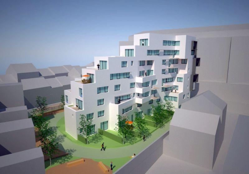 Reconstruction des logements sociaux Musin