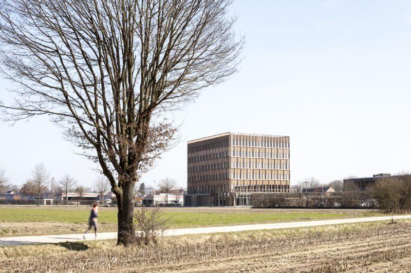Nieuw hoofdkantoor Intercommunale Ontwikkelingsmaatschappij in Geel