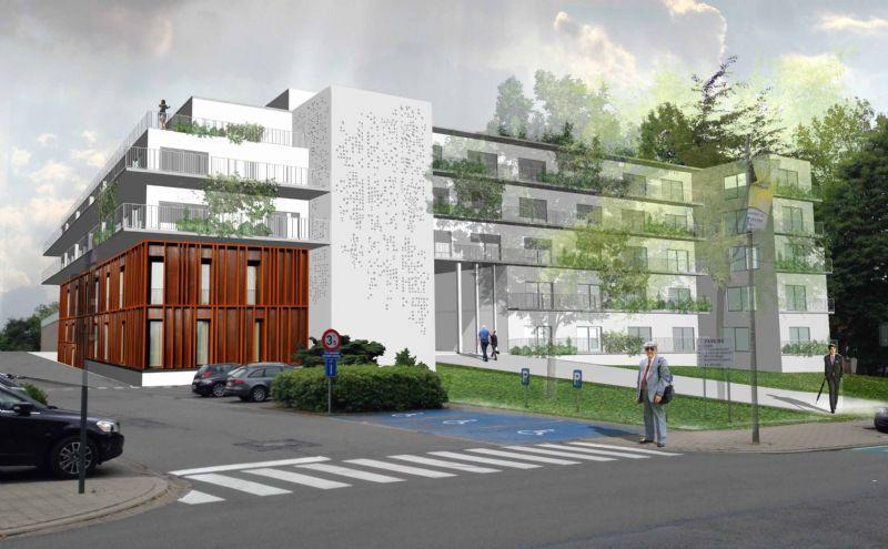 Verbouwing Ziekenhuis de Pelikaan tot 60 assistentiewoningen