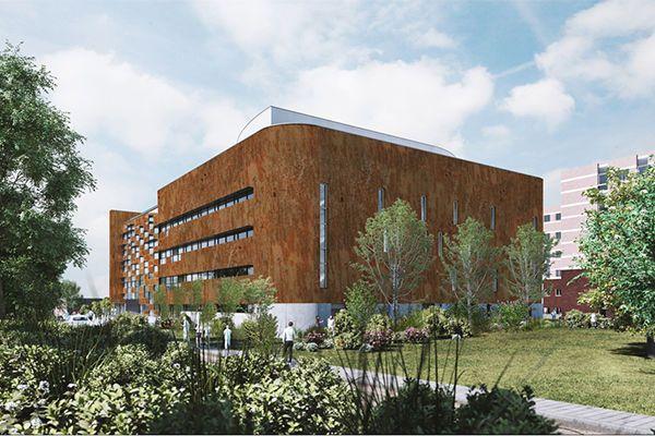 Bâtiment W Campus Erasme ULB Pôle Santé