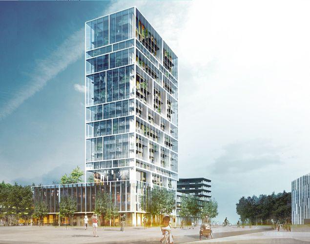 Residentiële Toren Antwerpen
