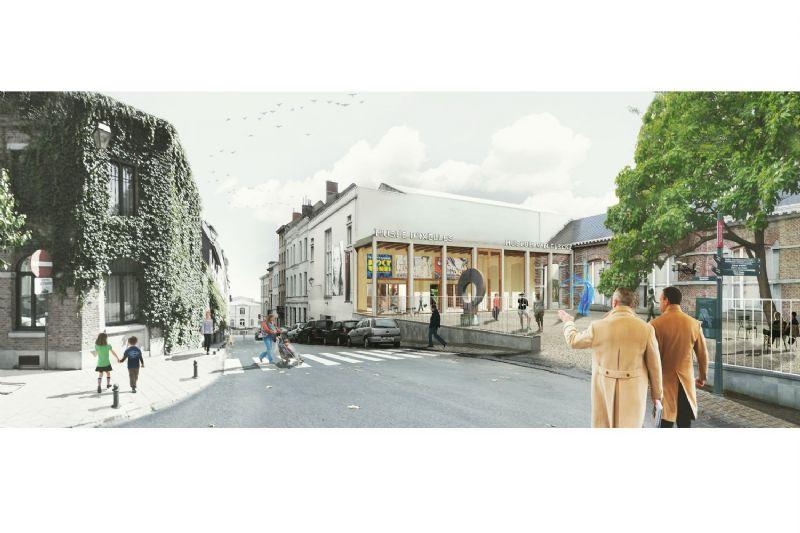 Rénovation du musée d'Ixelles