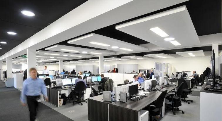 Passief kantoorgebouw Sibelga