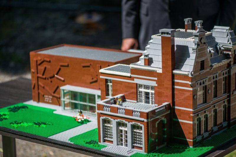 LEGO-maquette cultuur-en jeugdcentrum Hoboken