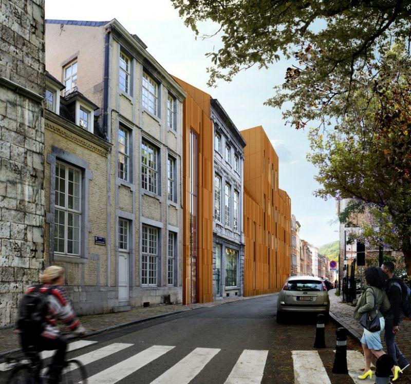 Nouvelle maison des parlementaires wallons