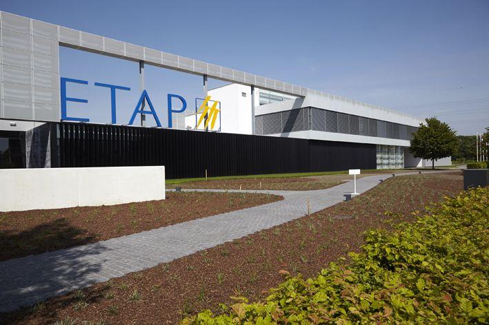 Uitbreiding van de ETAP-bedrijfsgebouwen