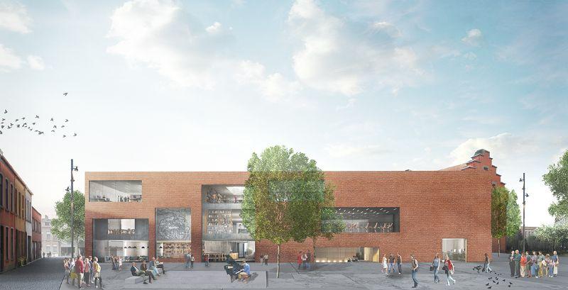 Bibliothèque & Académie des Arts de la Scène Pupillensite