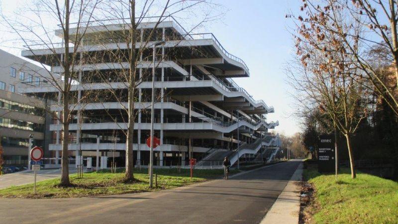 Parkeergebouw imec-KU Leuven