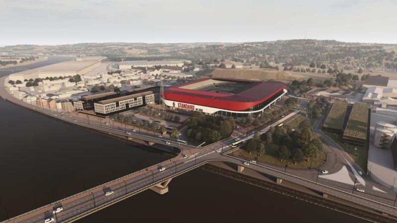 Stade Maurice Dufrasne (Standard)
