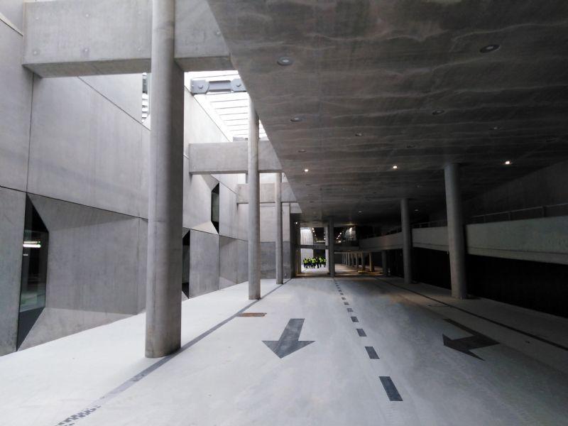 Ondergrondse parking station Mechelen