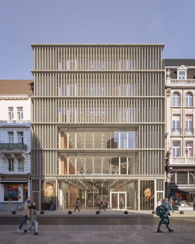 Nieuw onthaalgebouw Rubenshuis