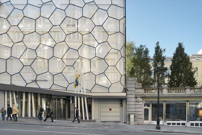 Nouveau siège du Parlement Francophone Bruxellois