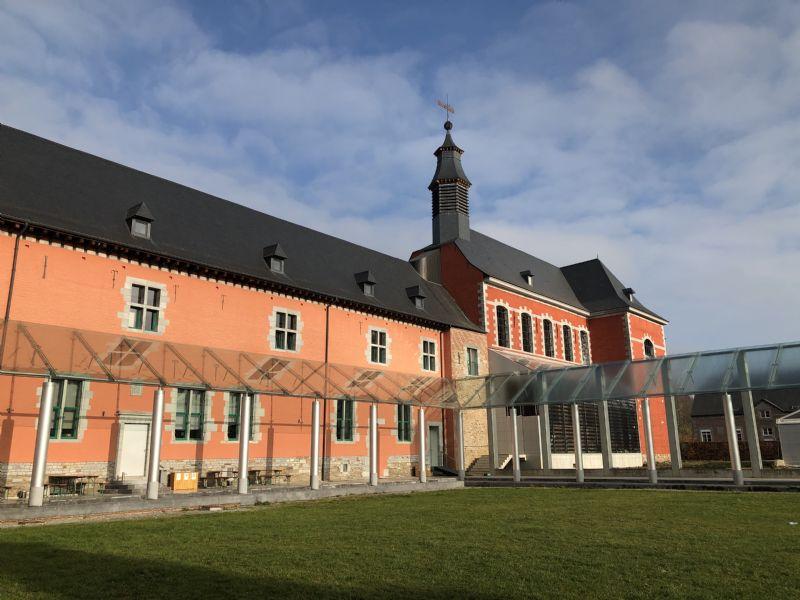 De verbouwing van de abdijkerk van Paix-Dieu