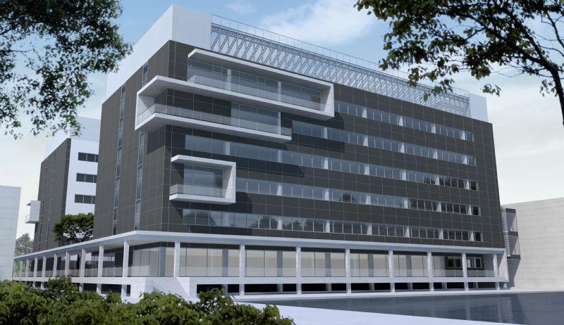 Onderzoeksgebouw en bio-accelerator Campus Ardoyen