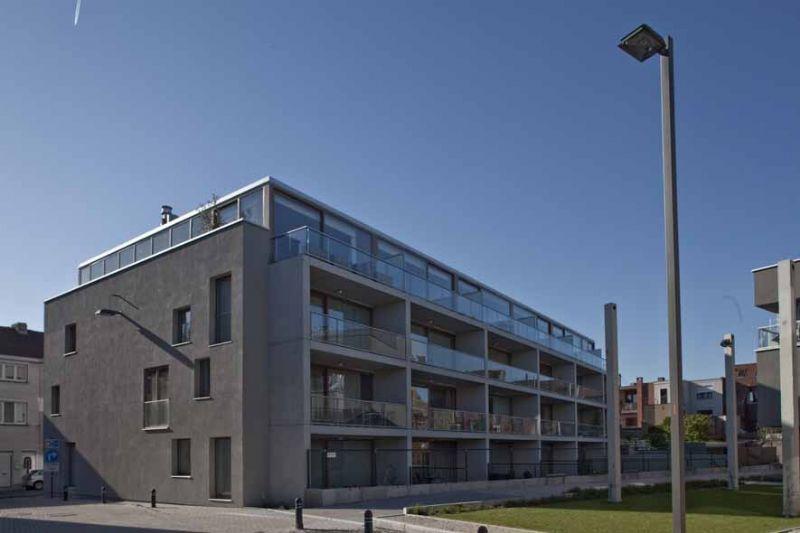 Gallinago: grootschalig woonprogramma in een stedelijke binnentuin