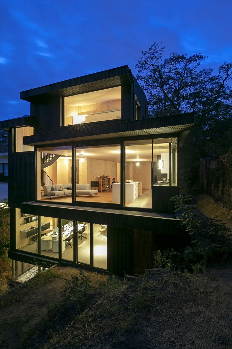 Maison avec atelier d'architecture