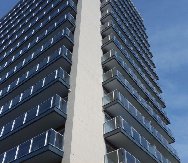 Balkonrenovatie residentie Leiebos