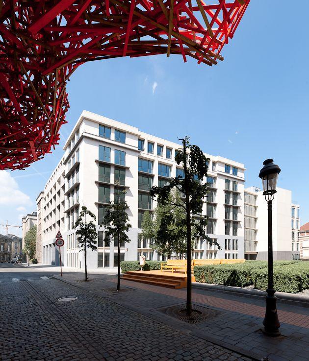 Forum I & II : réhabilitation lourde au coeur de Bruxelles