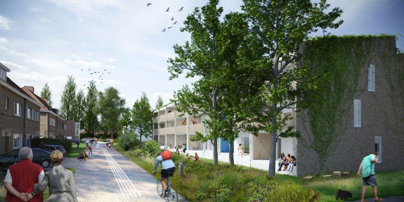 Fossielvrije wijk Nieuw Kortrijk
