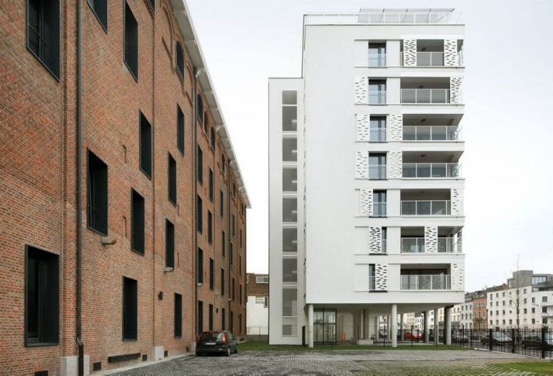 Hauts de Bellevue, appartements passifs