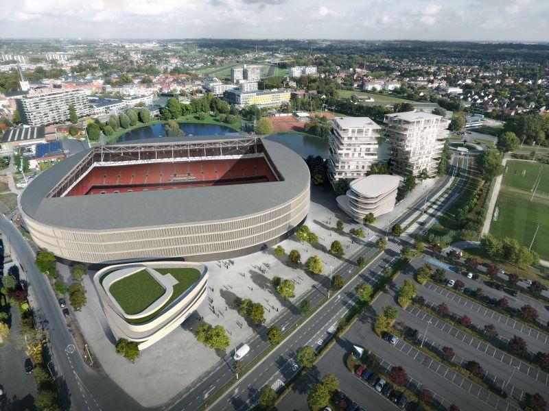 Projet immobilier stade Regenboog