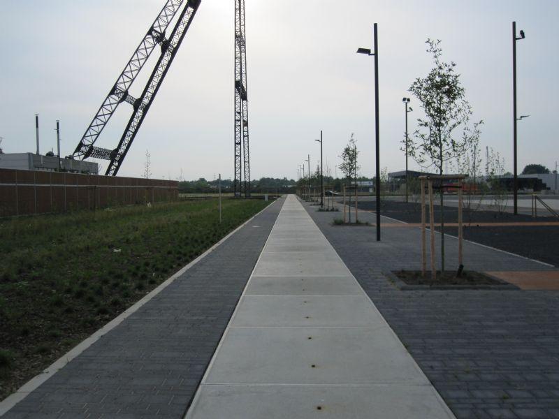 Infrastructuurconcept voor nieuwe Cleantechcampus in Houthalen-Helchteren