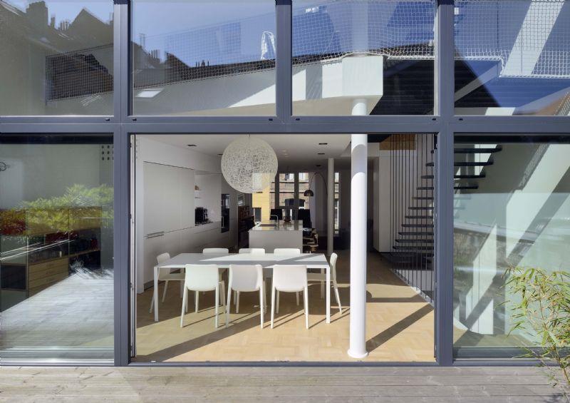 Immeuble de logements passifs à Ixelles, lauréat BATEX