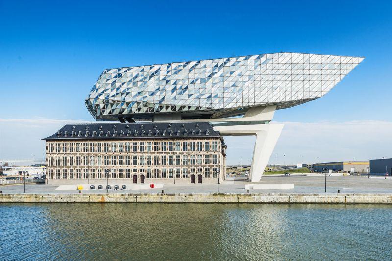 Nouvelle maison portuaire à Anvers