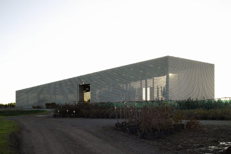 Hall de séchage arboriculture Arbor