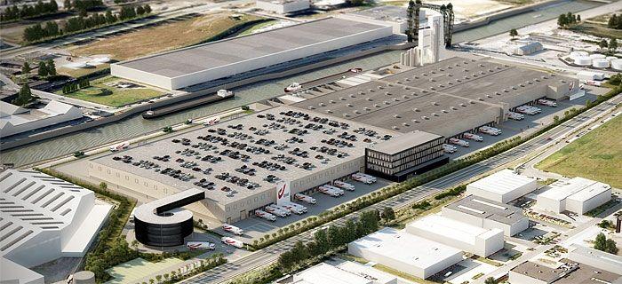 Nieuw postsorteercentrum Brussel