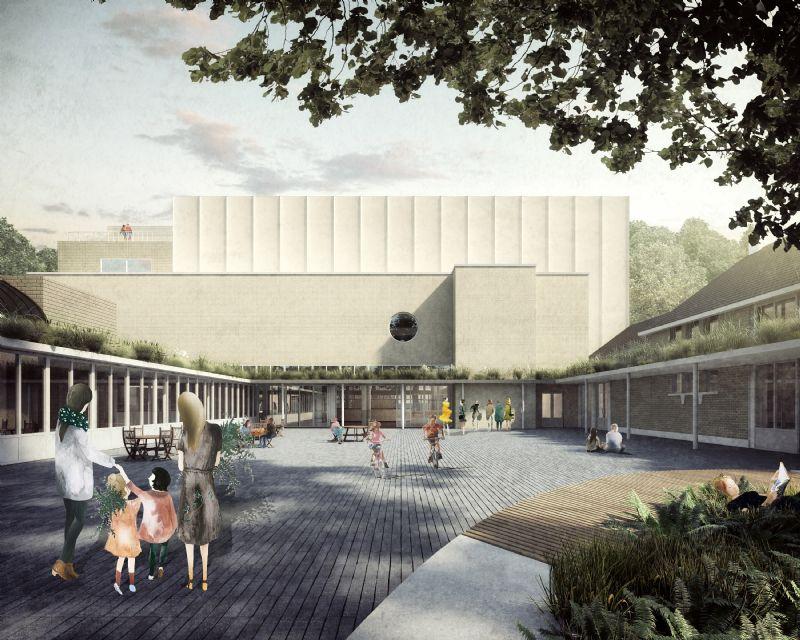 Nieuw vrijetijdscentrum en verbouwing gemeentehuis
