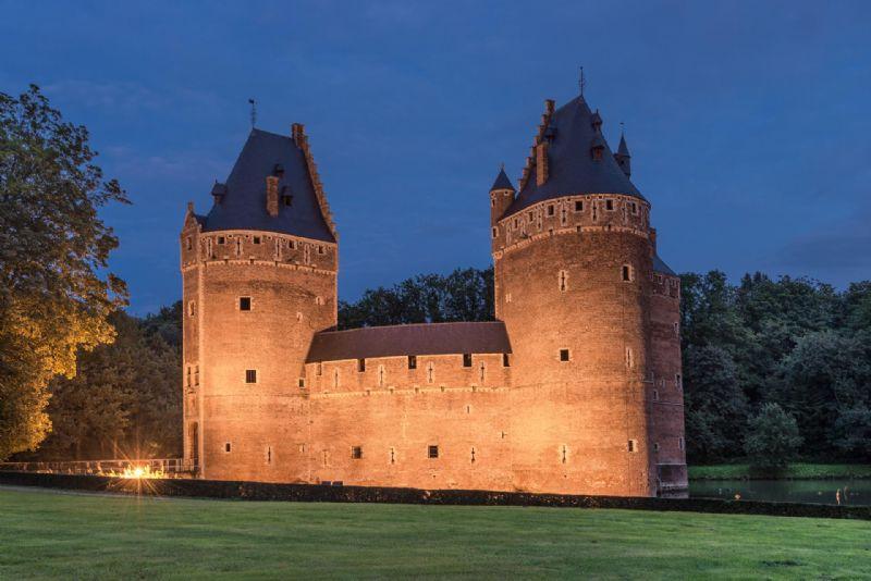 Renovatie kasteel van Beersel