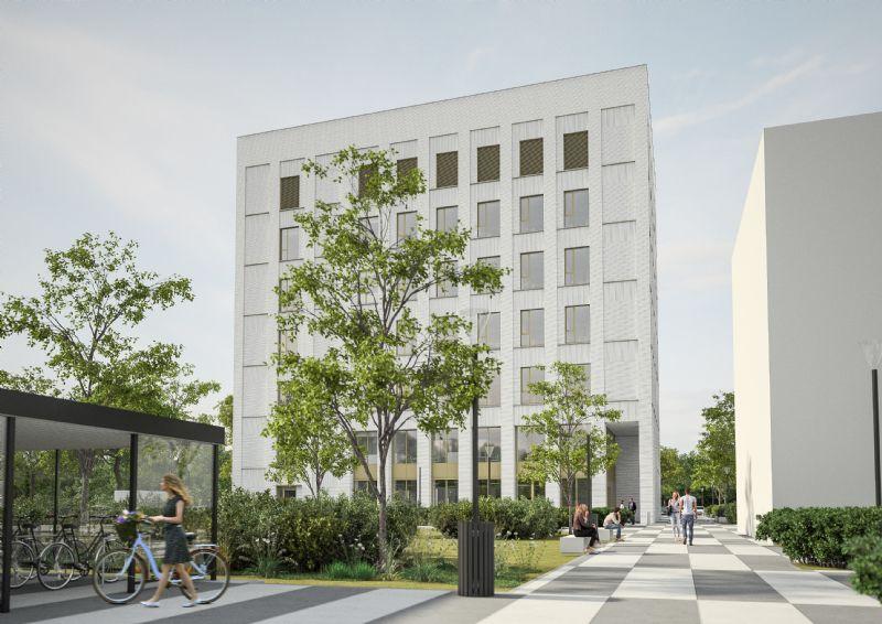 Kantoorgebouw met laboratoria Campus Groenenborger UAntwerpen