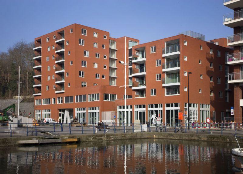De Latten: gemengd complex in de Vaartkom in Leuven