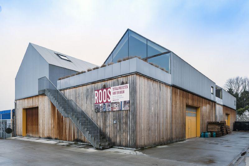 ROOS schrijnwerkerij + woningen